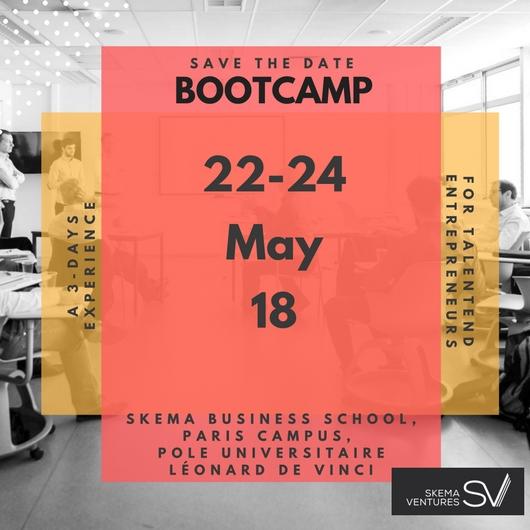 BOOTCAMP by Skema Ventures at Paris La Defense