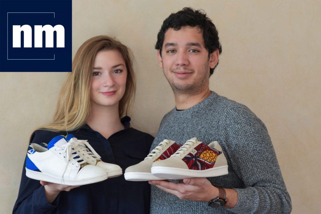 Wibes shoes-Aurelie-Nicolas-Nice Matin