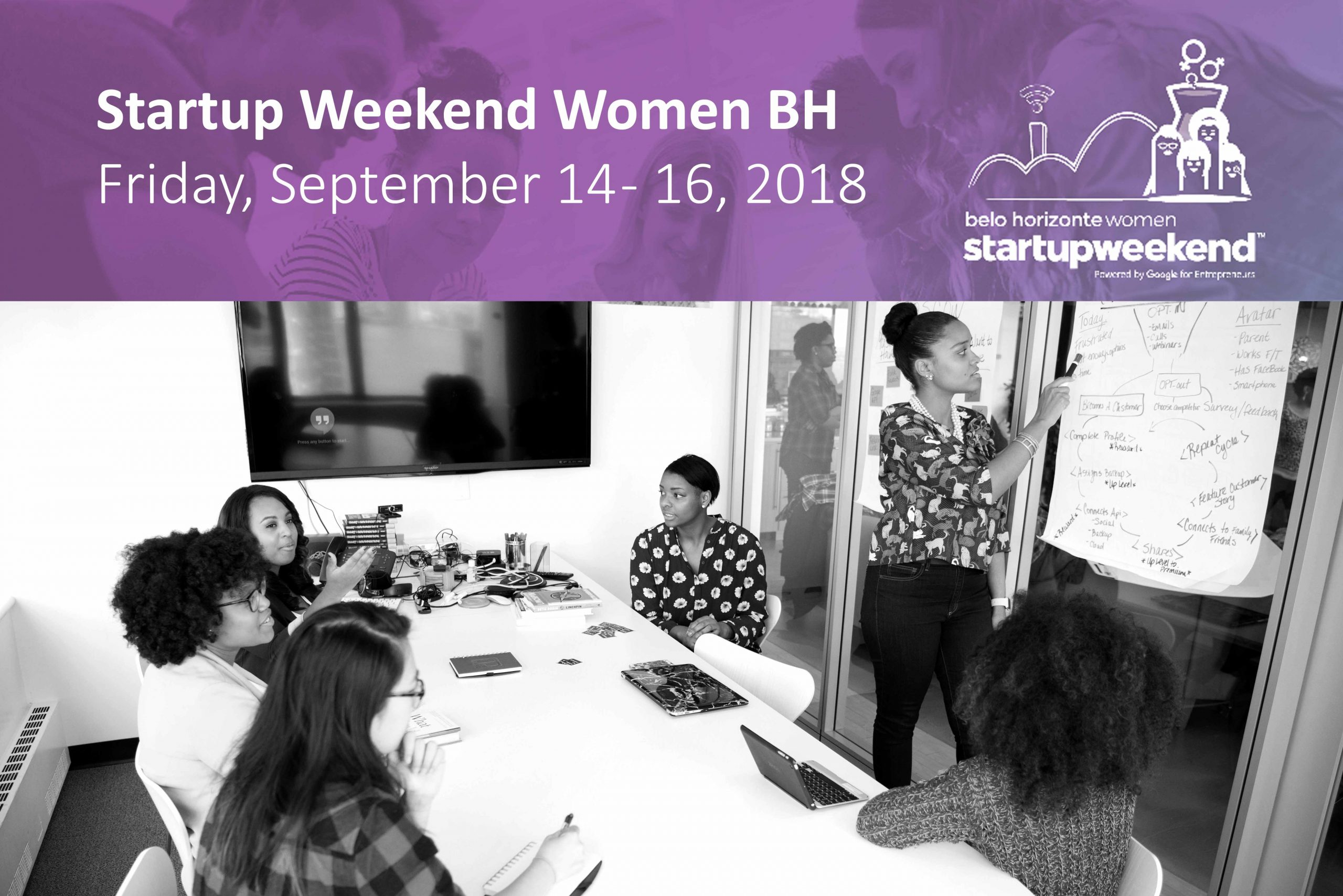 Startup Weekend Women BH: Unleash the entrepreneur within