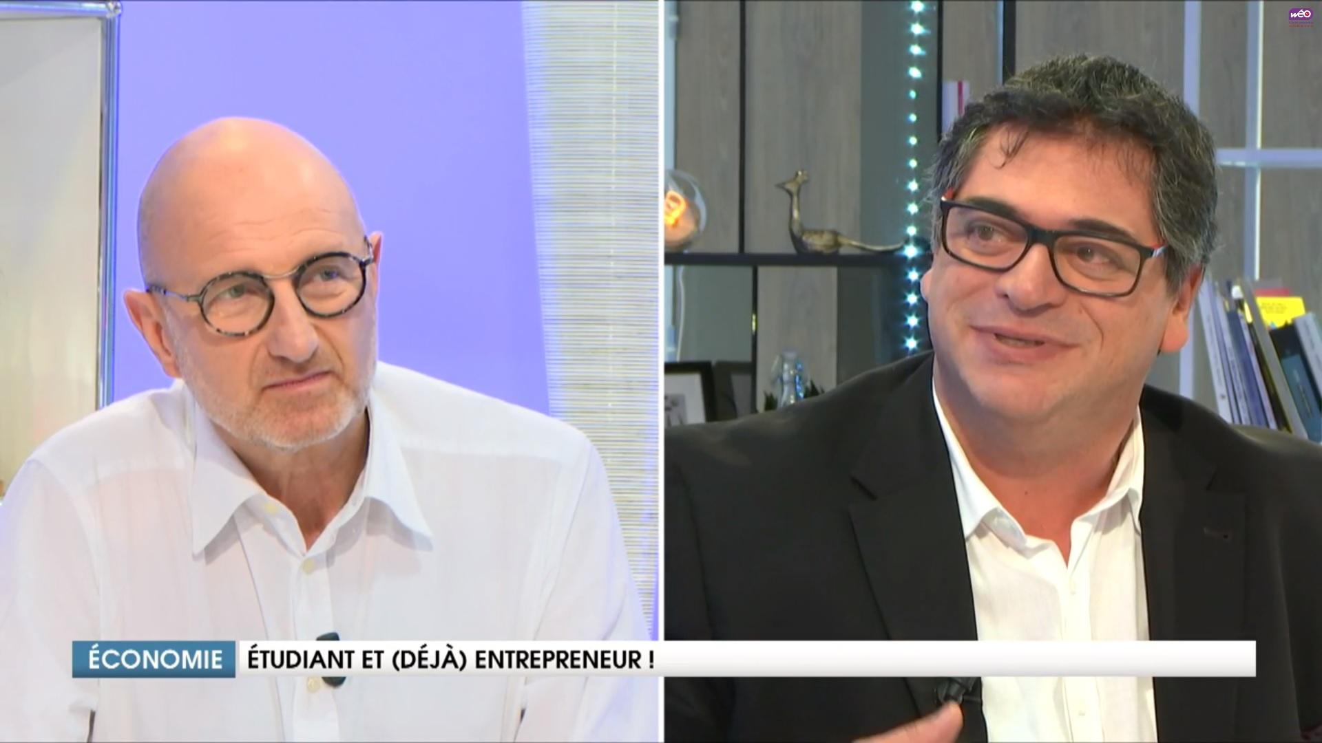 Franck Hanoh interview-Weo TV