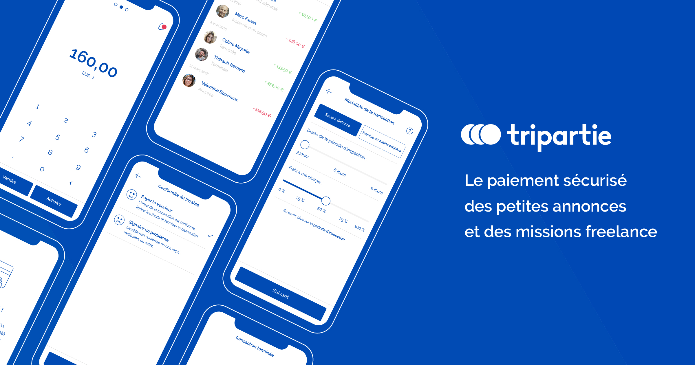 Tripartie mobile application