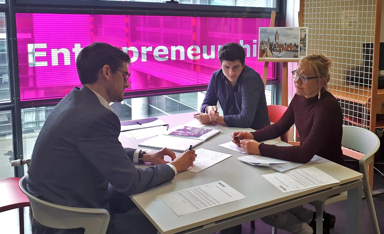 Four women entrepreneurs benefit from reverse mentoring workshop