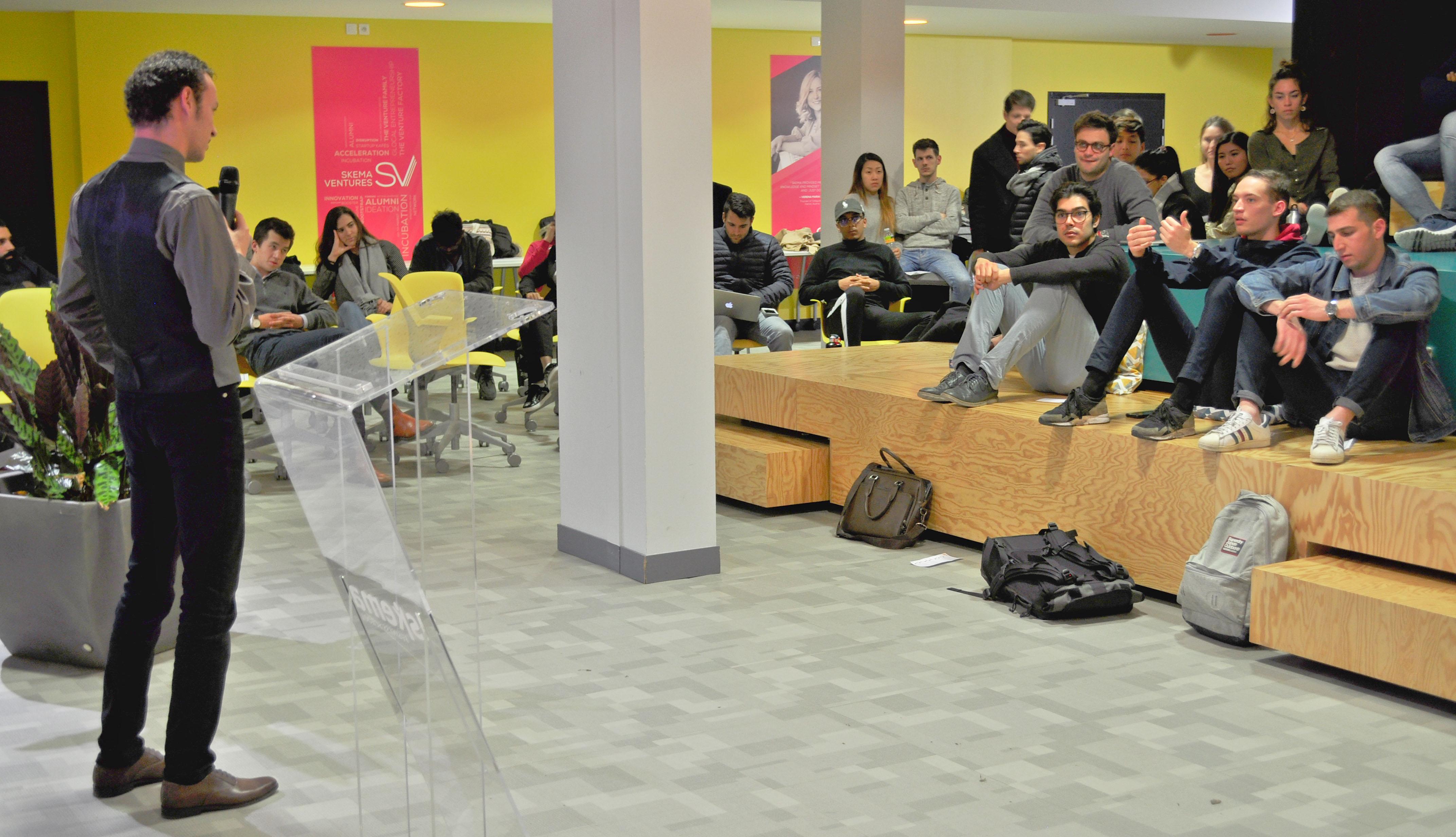Startup Kafe at Sophia Antipolis campus