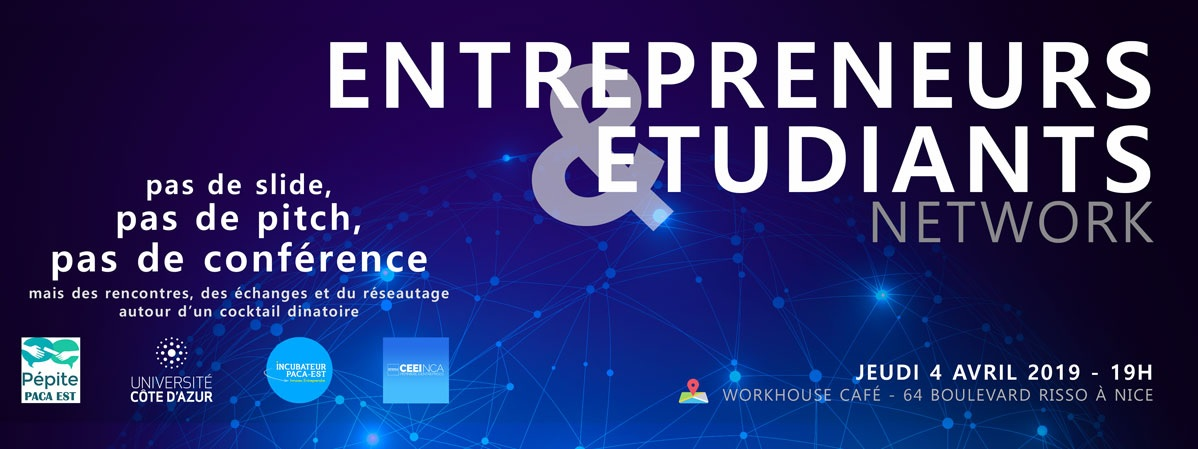 Entrepreneurs and students networking event