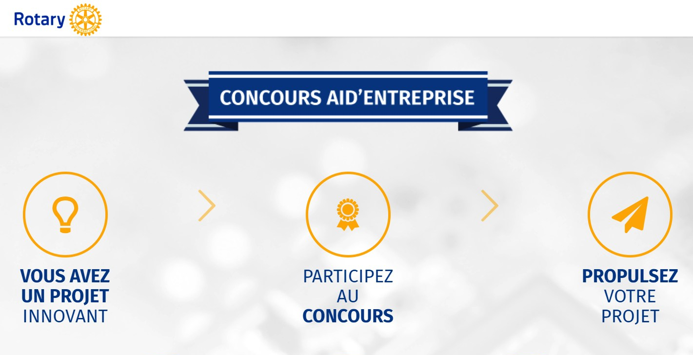 Le Rotary Club-concours AID'Entreprise