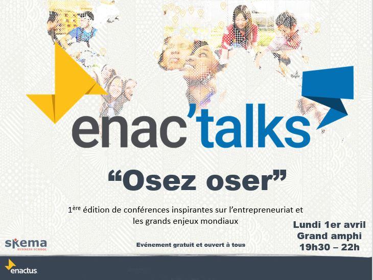 Enac'talks conference: Dare to dare