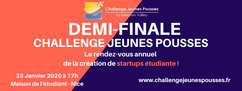 Challenge Jeunes Pousses 2020