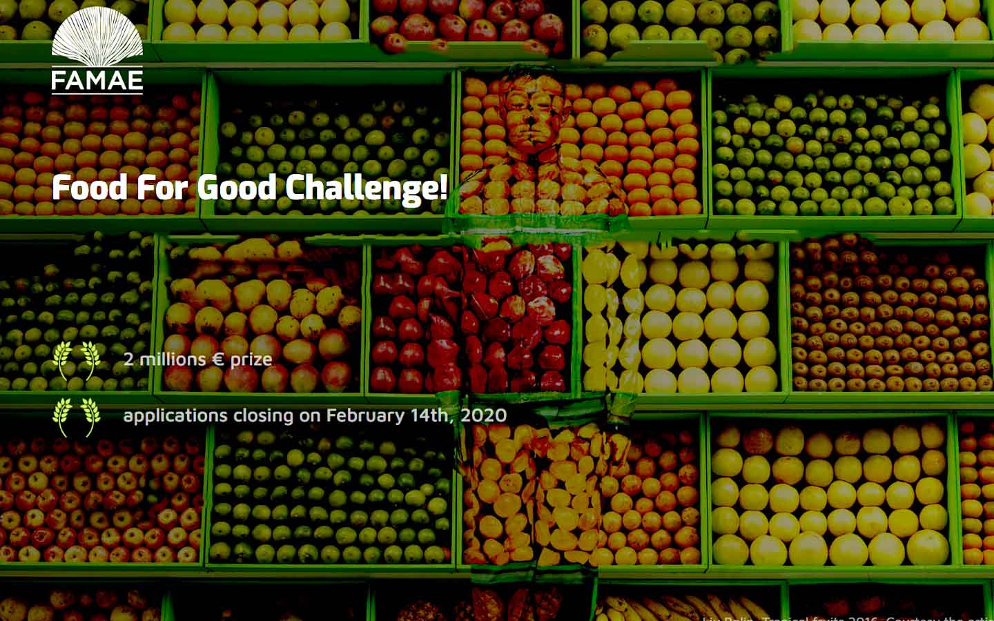 Food For Good Challenge: Win funding of up to €2 million