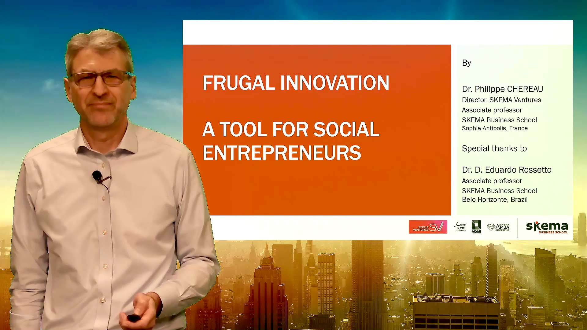 MOOC: Learn how to 'do more with less' through frugal innovation
