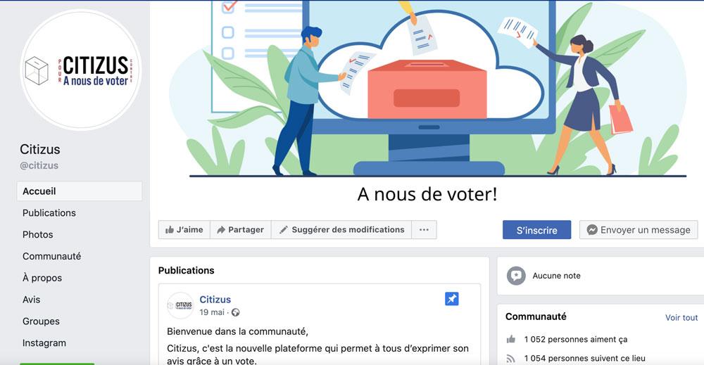 Citizus facebook page