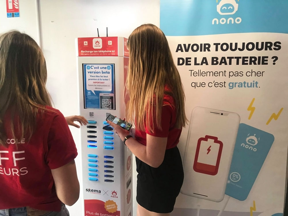 Nono charger at SKEMA Lille