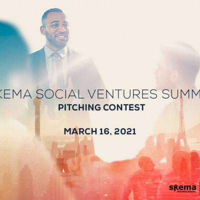 SKEMA Social Ventures Summit-pitching