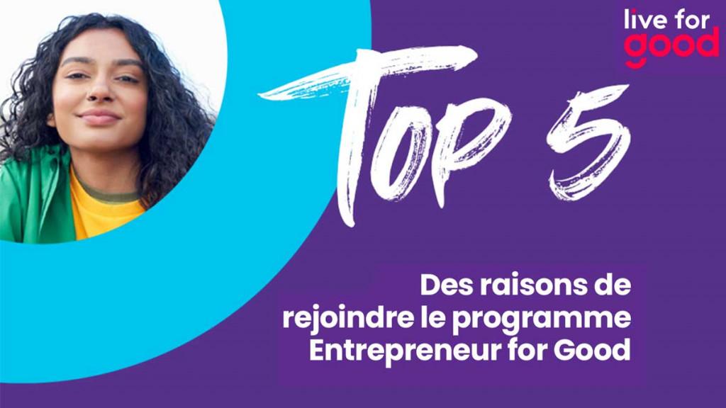 Entrepreneur for Good programEntrepreneur for Good program