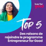 Entrepreneur for Good program