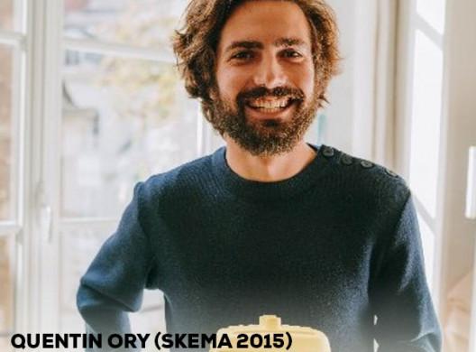 Quentin ORY (SKEMA 2015), entrepreneur à impact!